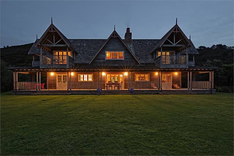 ... Native Bush With Spectacular Views Of The Ocean, Mount St. Paul Estate  Is The Ultimate Place To Stay On Great Barrier Island. The House Has  Magnificent ...