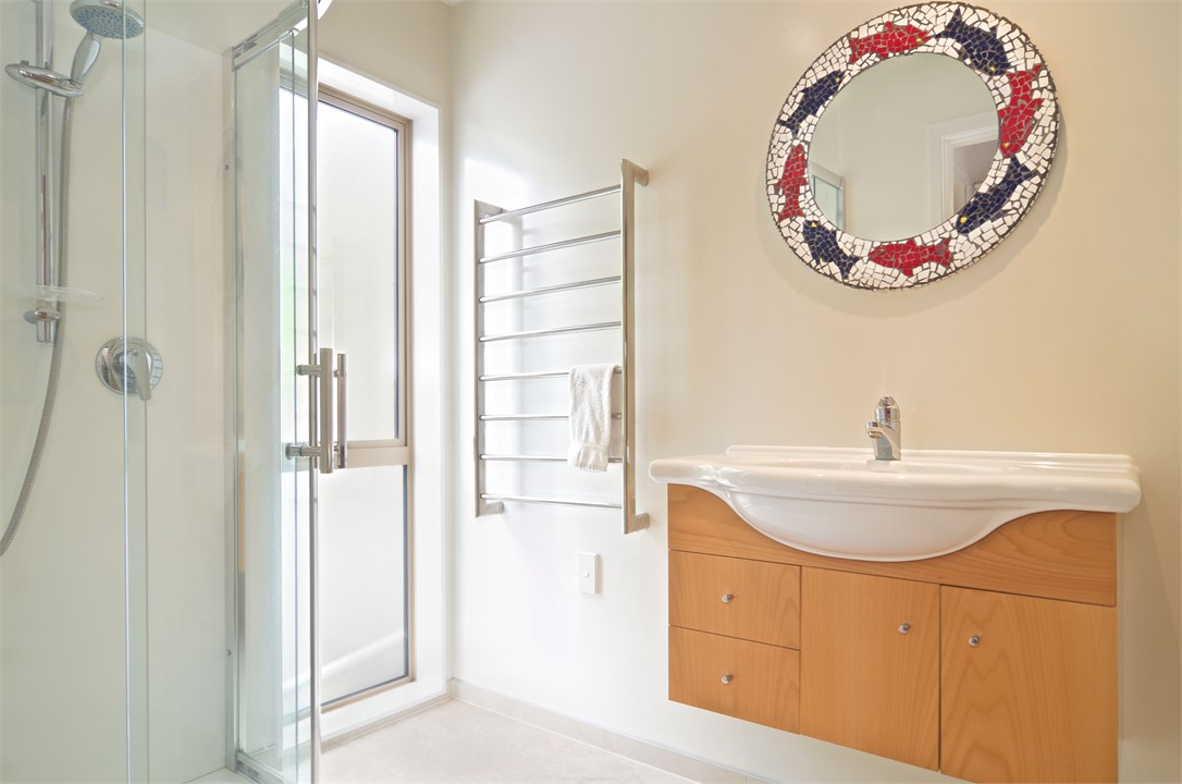 contemporary modern bathroom west melton home accommodation country living 12482