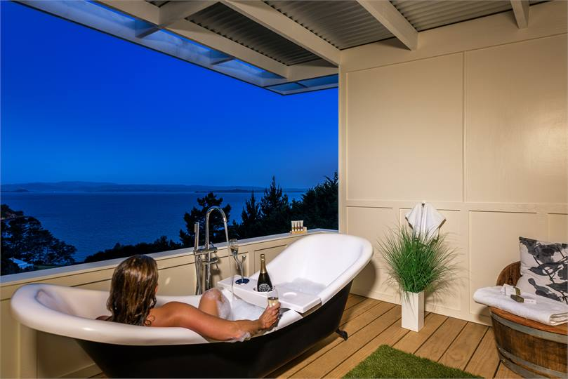 Woodside Bay Chalets Enjoy Some Of The Most Spectacular Sea Views On  Waiheke Island. With Only Two One Bedroom Luxury Chalets On Site, They Are  Ideal For ...